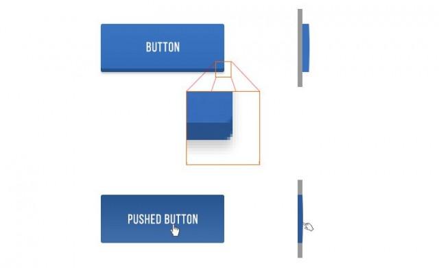 пример кнопок на сайте