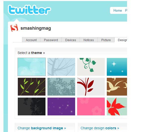 персонализация в твиттере