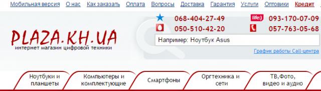 пример логотипа сайта