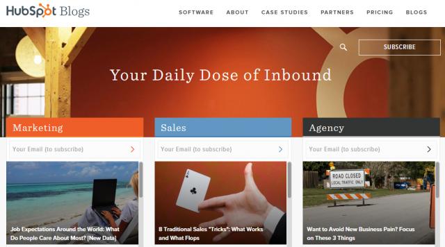 блог hubspot