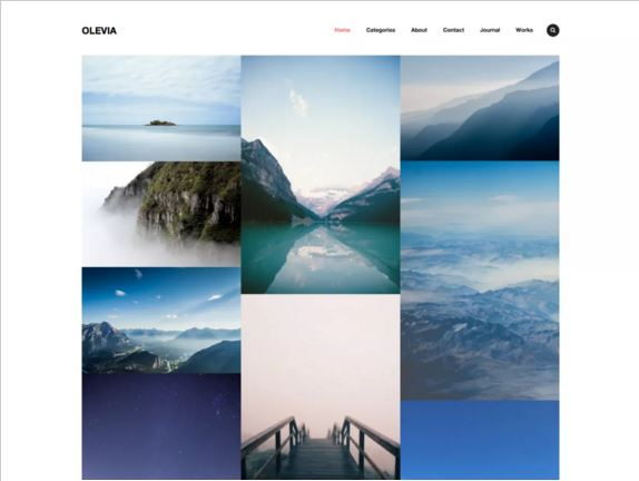тема для WordPress Olevia