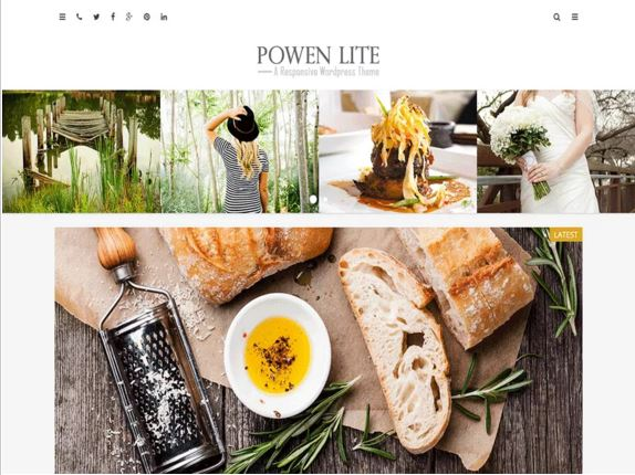 тема для WordPress Powen Lite