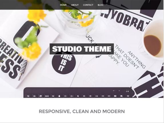 тема для WordPress Studio