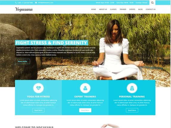 тема для WordPress Yogi Lite