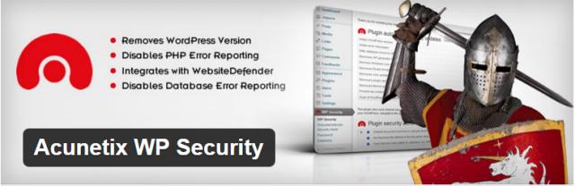 плагин для wordpress Acunetix WP Security