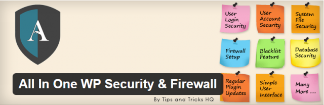 плагин для wordpress All In One WordPress Security