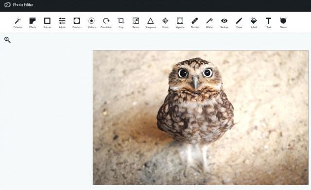 редактор изображений Aviary