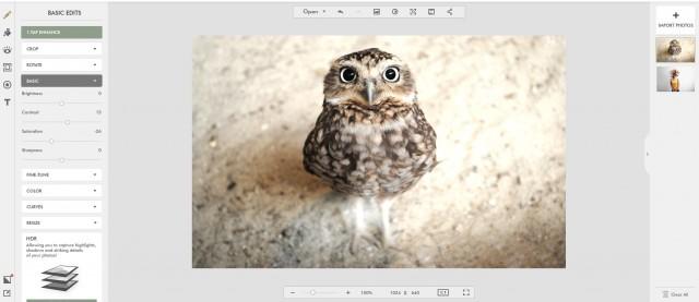 редактор изображений Fotor
