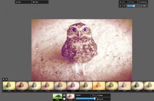 редактор изображений Pixlr Express