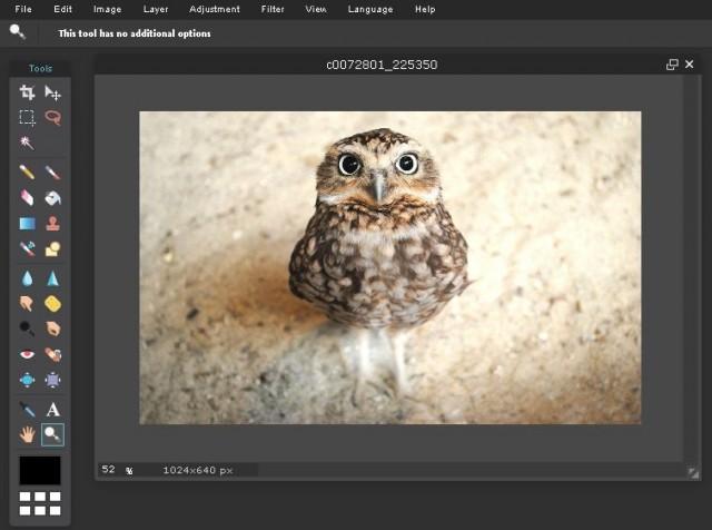 редактор изображений Pixlr editor