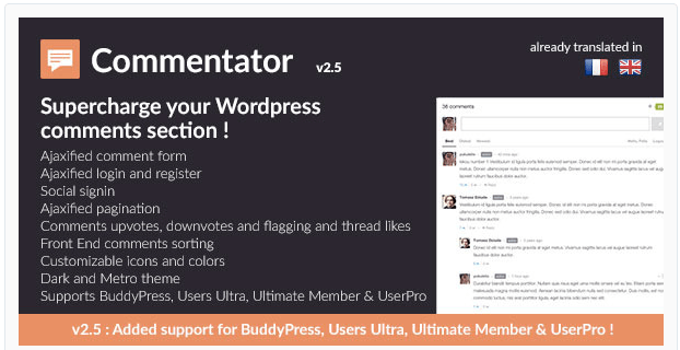 Commentator wordpress