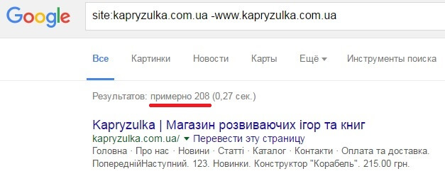 какие страницы проиндексированы в google