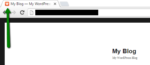 фавикон в браузере