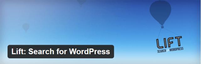 Lift: Search for WordPress