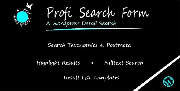 Profi Search Form