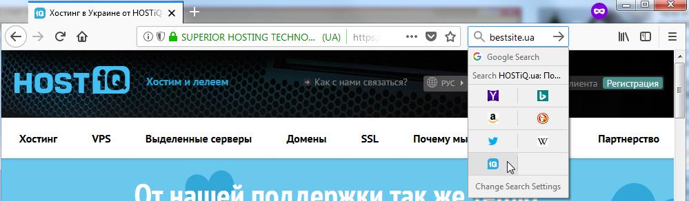 Поиск домена и хостинга привязке домена к хостингу