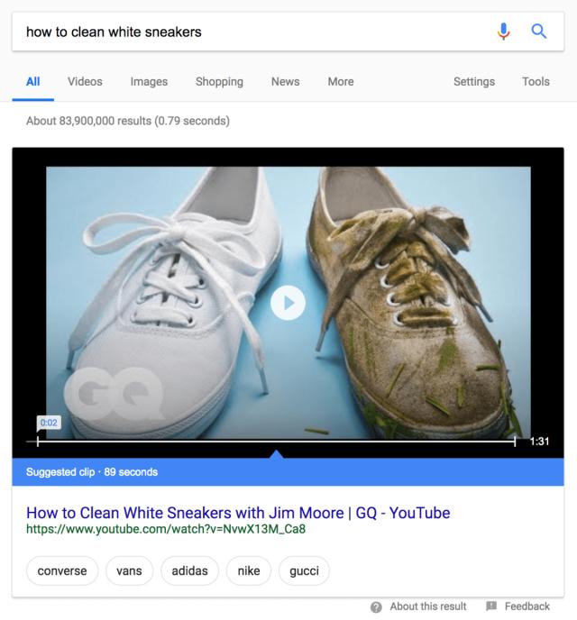 Оптимизация видео для голосового поиска