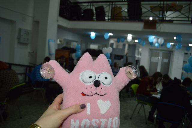 фирменный кот hostiq