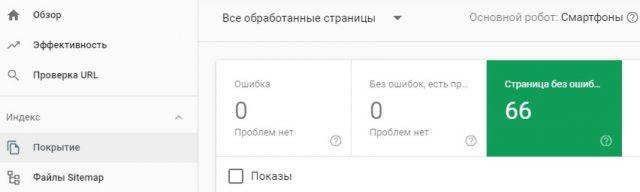 Как проверить индексацию страниц в Google