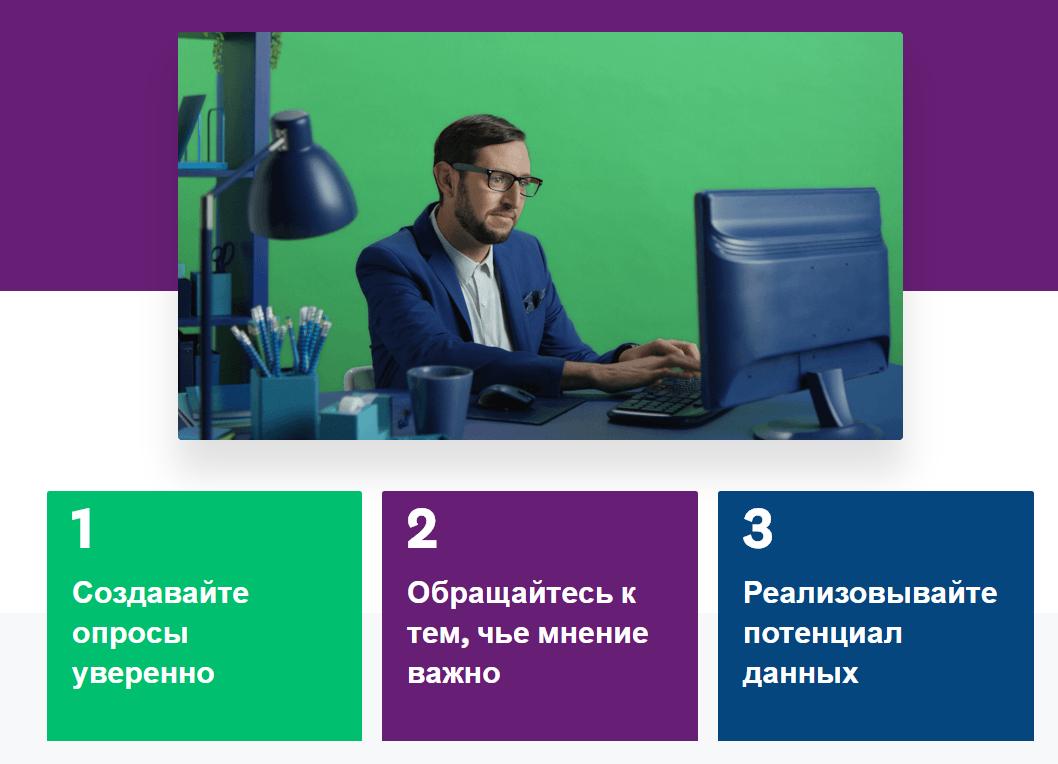 Сервис для опросов SurveyMonkey