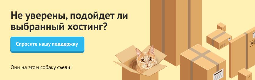 От нашей поддержки так же тепло, как от мягкого живота кота