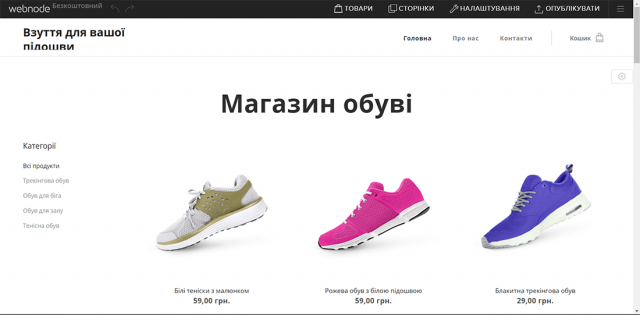 какой конструктор сайтов лучше выбрать Webnode