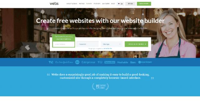 Лучшие бесплатные конструкторы сайтов на русском языке Webs
