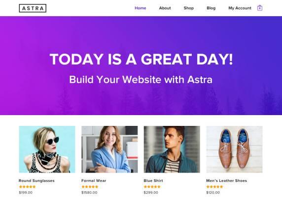 wordpress тема Astra