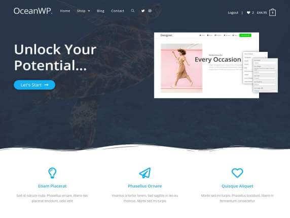 wordpress тема OceanWP