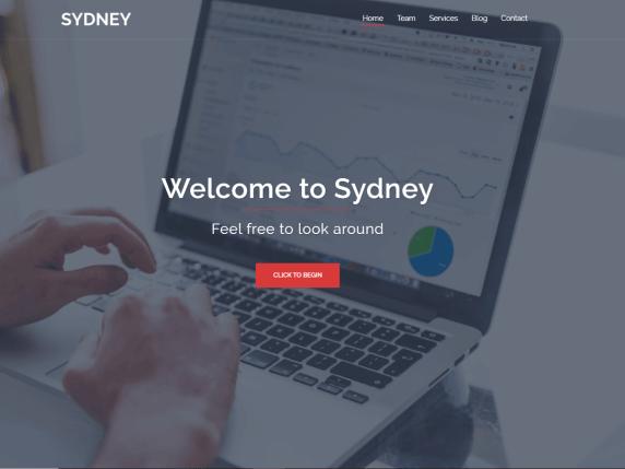 wordpress тема Sydney