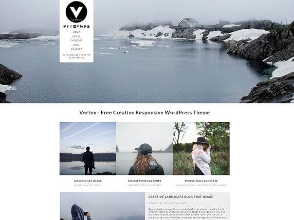 wordpress тема Vertex