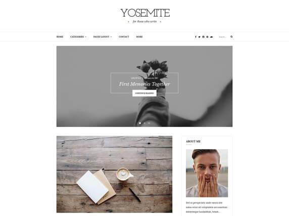 wordpress тема Yosemite Lite