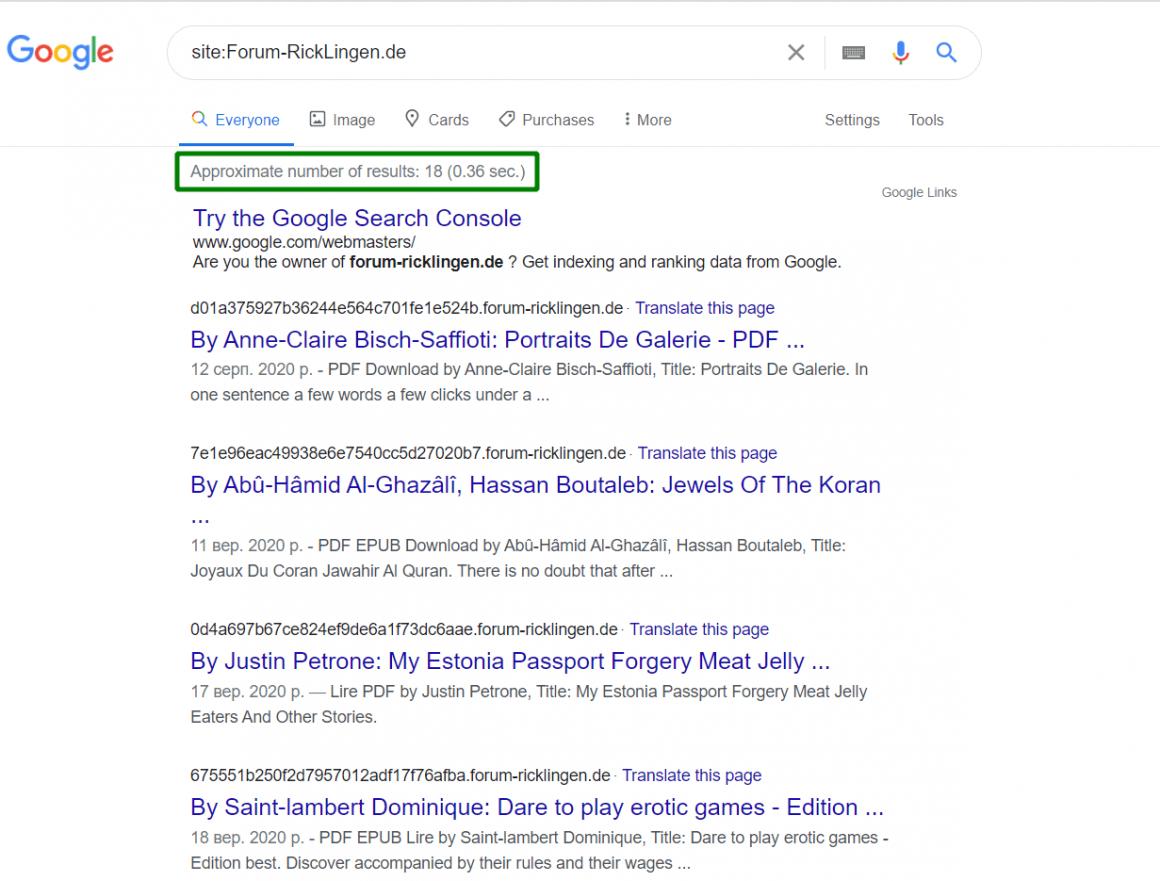 перевіряємо expired домени в гугл