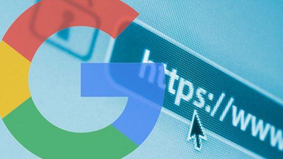 Google позначає сайти без https як незахищені