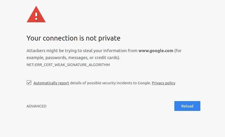 Помилка ssl-сертифікату в браузері через поновлення кореневого сертифіката від Let's Encrypt