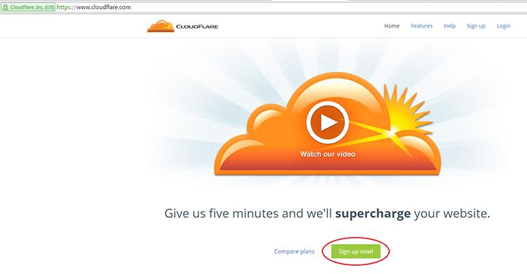 Использование CloudFlare как DNS-хостинг — HOSTiQ Wiki