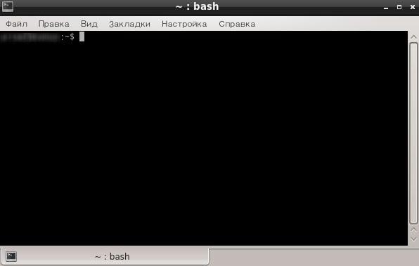 ÐапÑÑк ÑеÑминала в Linux