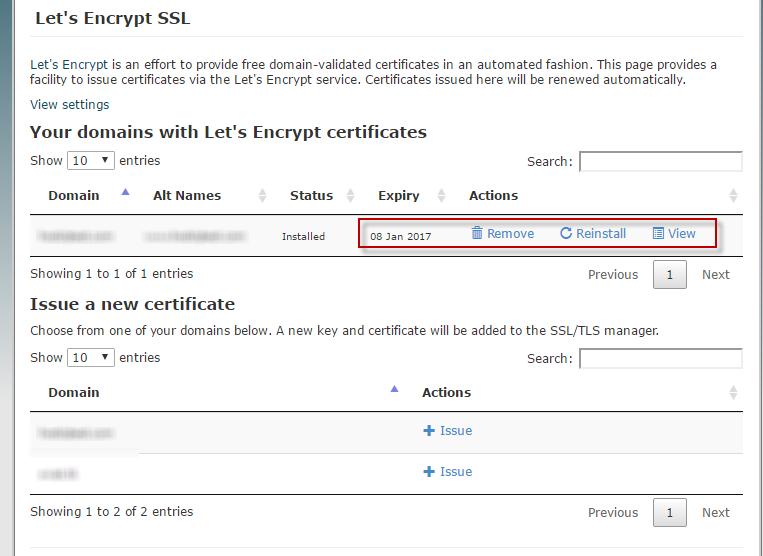 Let s encrypt на хостинг бесплатный хостинг поддержка ssh