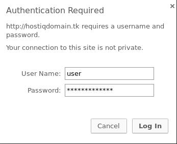 Аутентификация пользователей