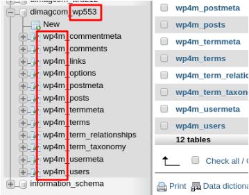 Смена имени сайта через запросы вбазу данных