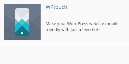 Логотип плагина WPTouch