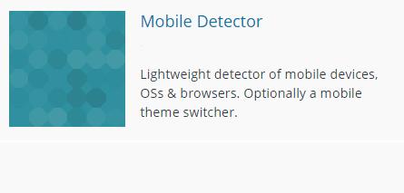 Логотип плагина WP Mobile Detector