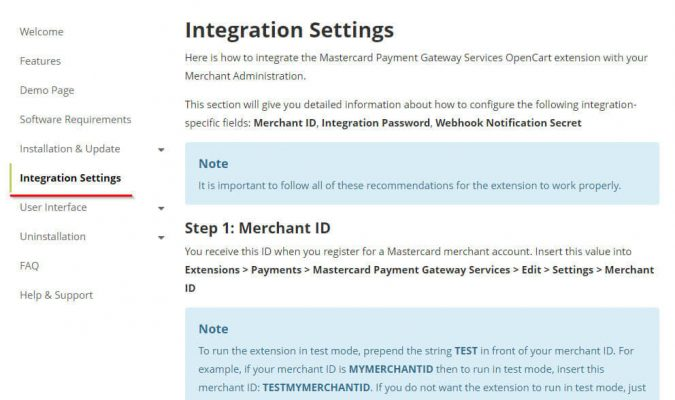 Интеграция модуля оплаты Mastercard в Opencart