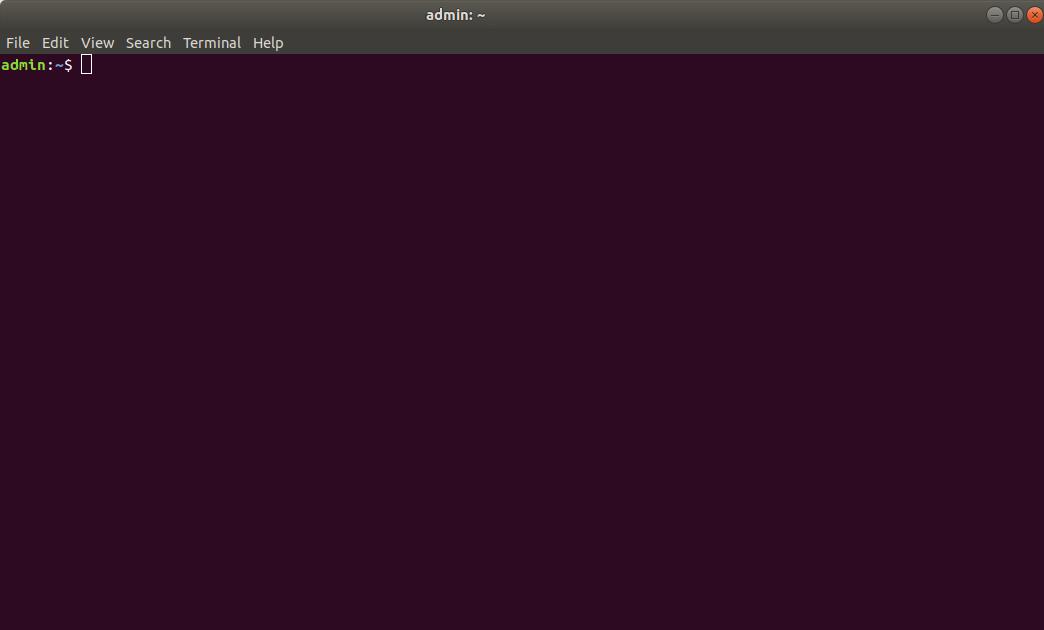Запуск терміналу в Linux