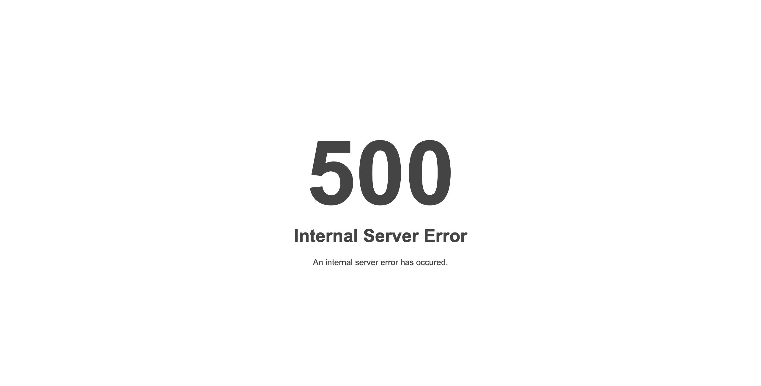 Ошибка 500 Internal Server Error на сервере с LiteSpeed